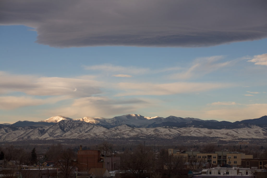 Mount Evans -February 14, 2011