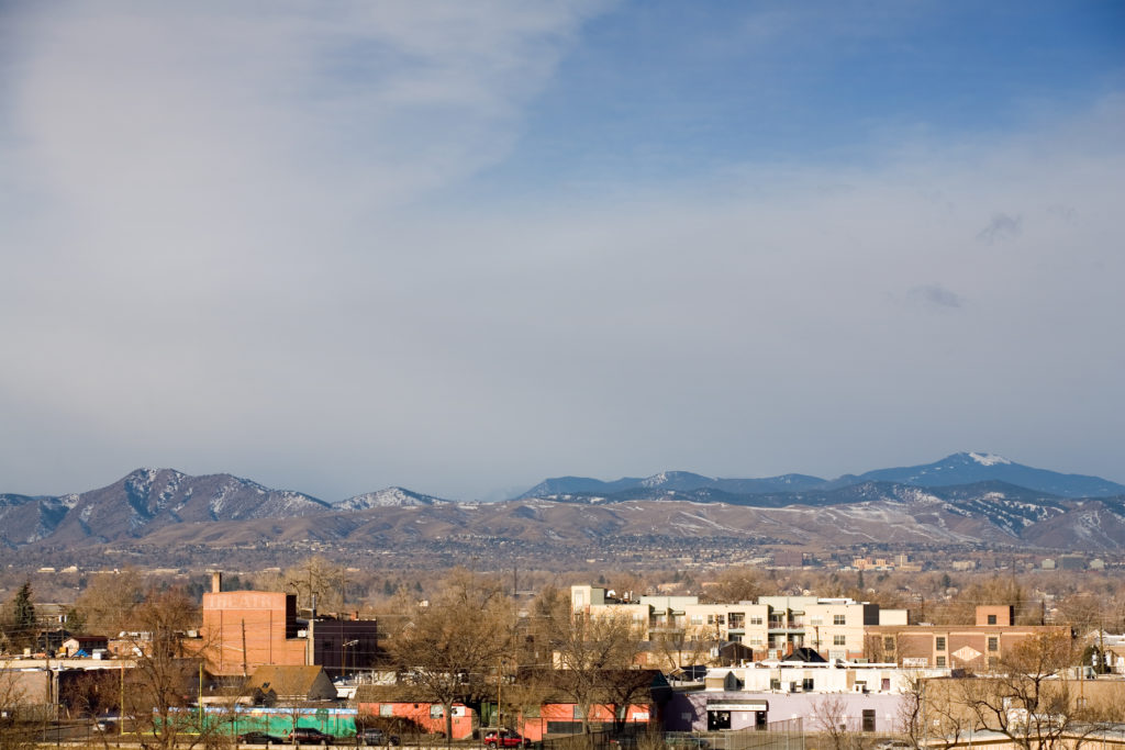 Mount Evans obscured - February 26, 2011