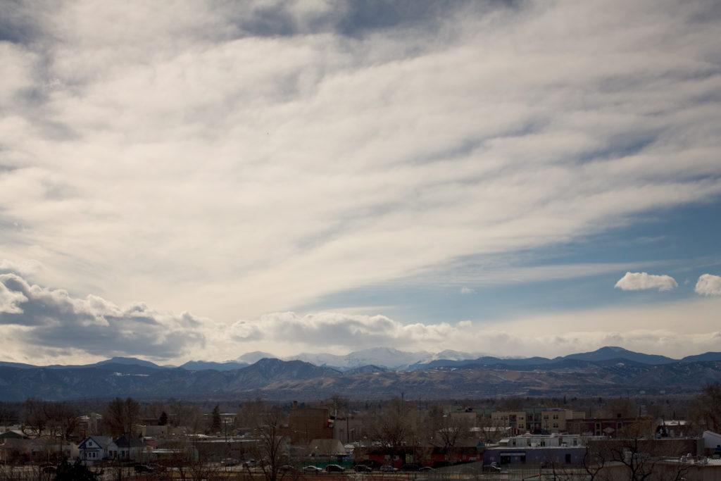 Mount Evans revealed - February 26, 2011