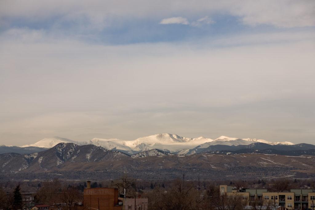 Mount Evans - February 27, 2011