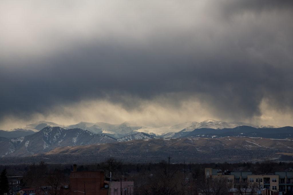 Mount Evans storm - February 27, 2011