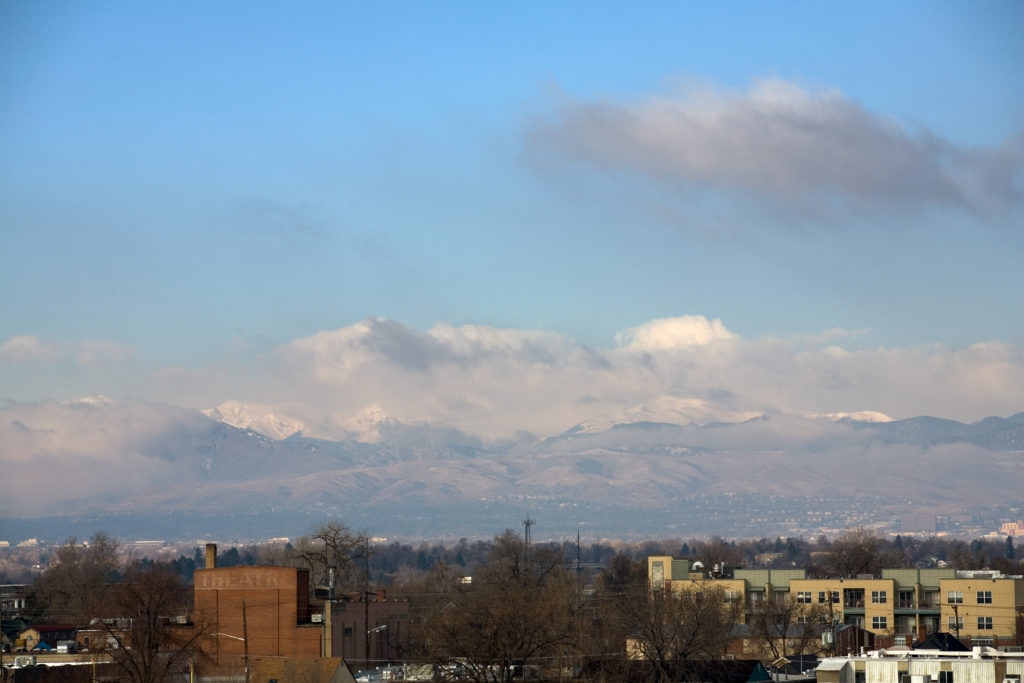 Mount Evans - March 13, 2011