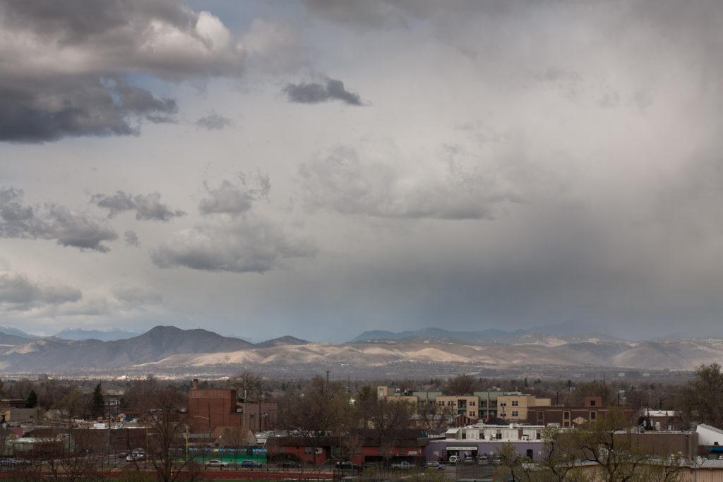 Mount Evans storm - April 3, 2011