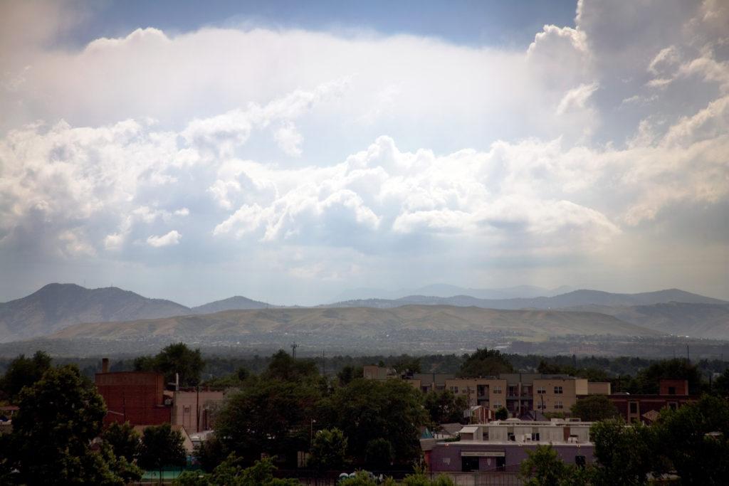 Mount Evans storm - July 4, 2010