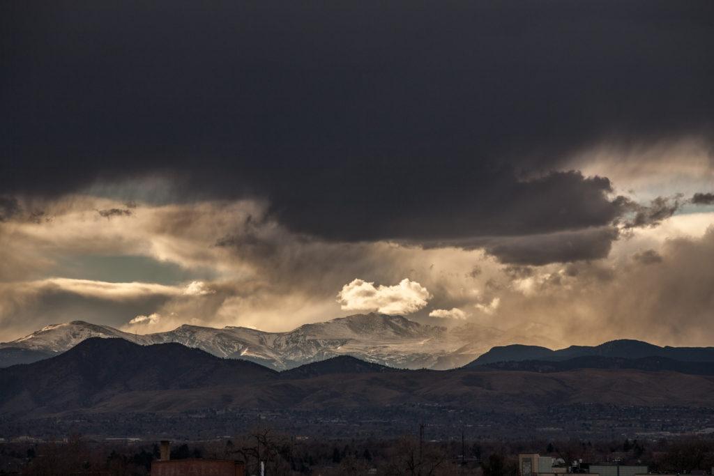Mount Evans - November 28, 2010