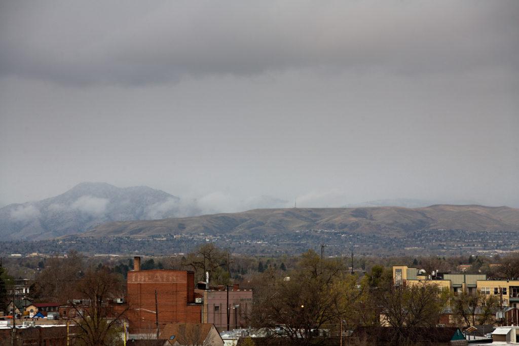 Mount Evans obscured - April 23, 2011