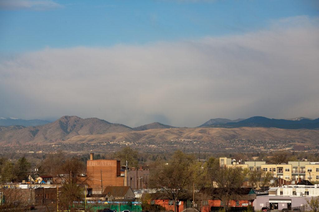 Mount Evans obscured - April 26, 2011