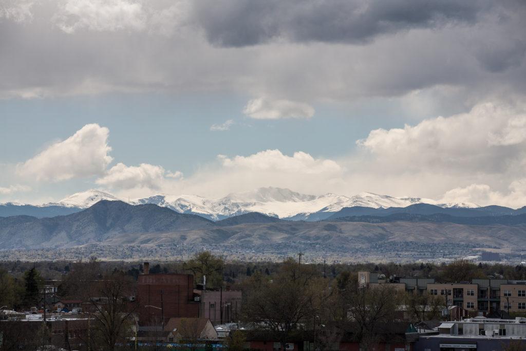 Mount Evans storm - April 30, 2011