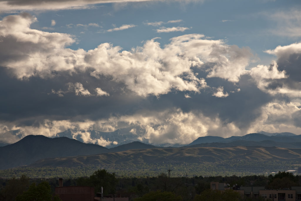Mount Evans obscured - May 20, 2011