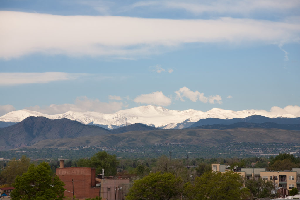 Mount Evans morning - May 22, 2011