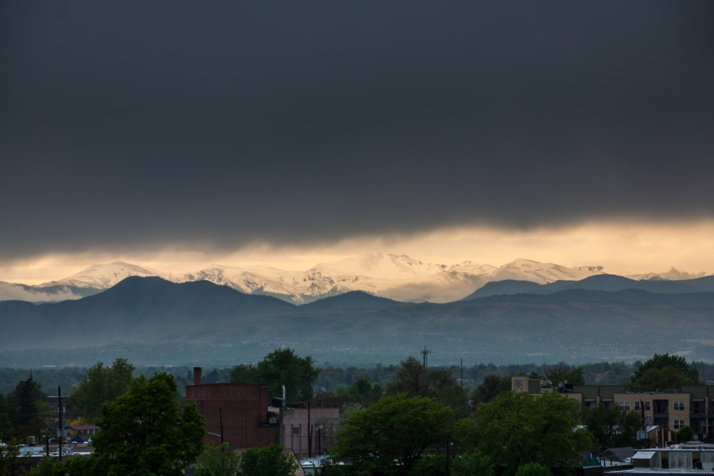 Mount Evans Storm - May 24, 2011