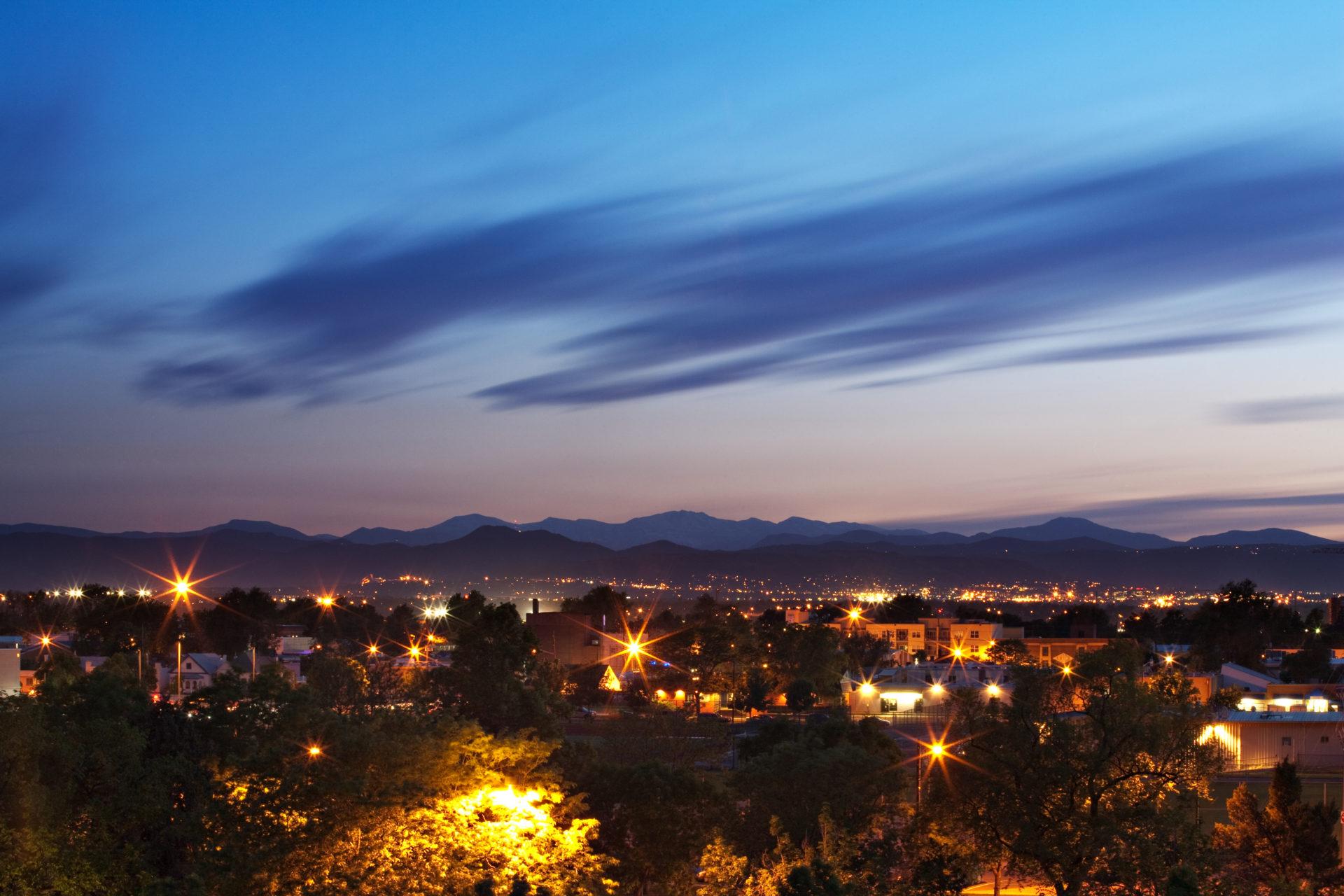 Mount Evans sunset - June 3, 2011