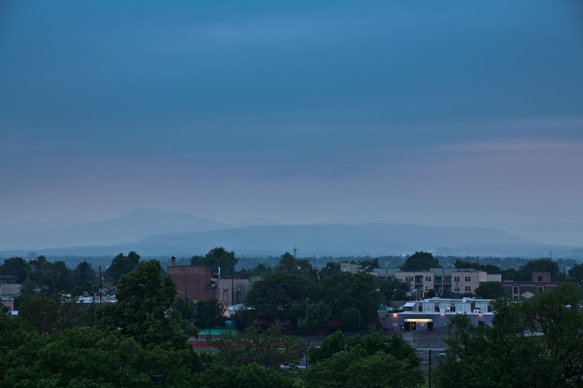 Mount Evans obscured - June 9, 2011