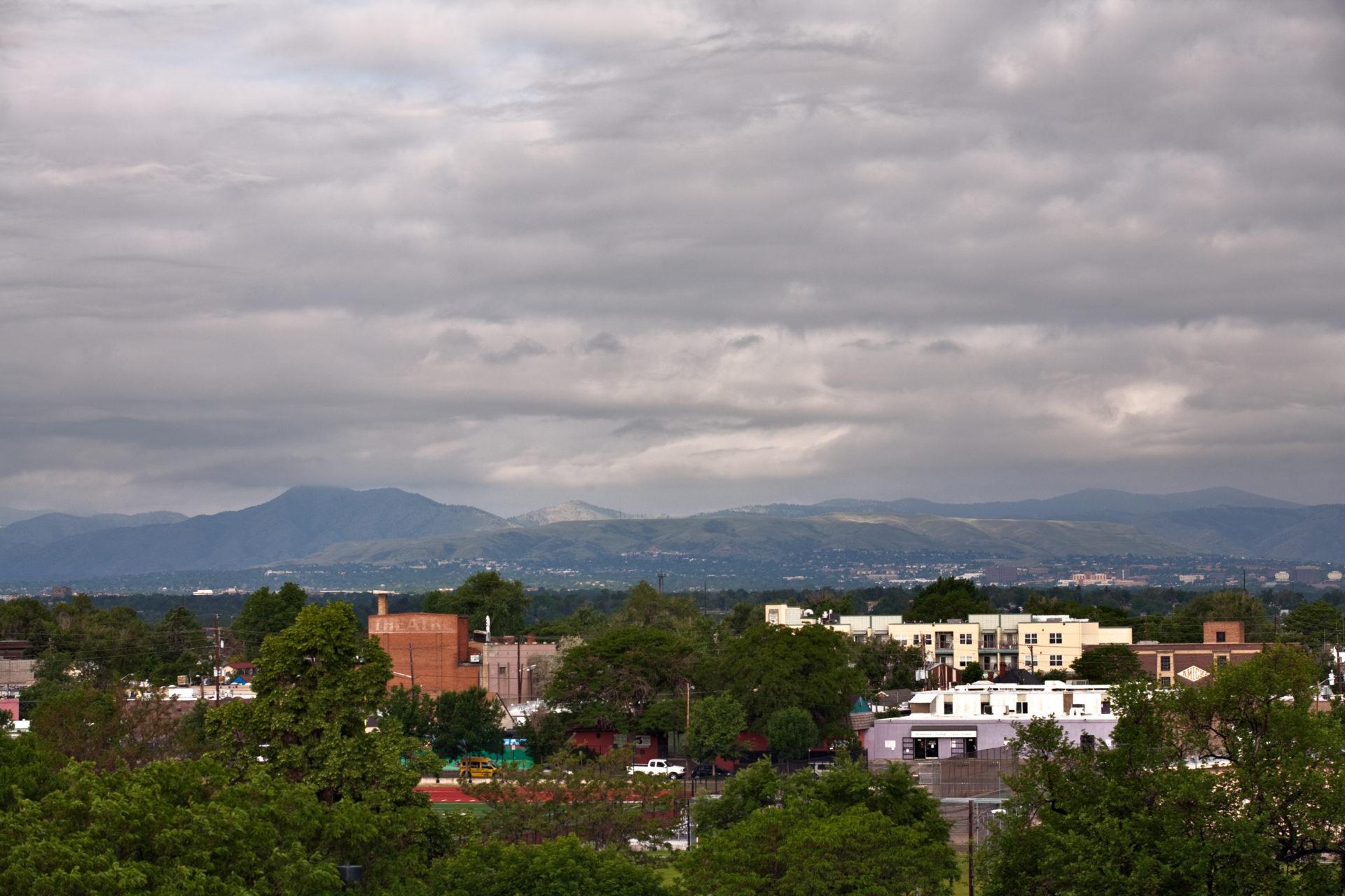 Mount Evans obscured - June 10, 2011