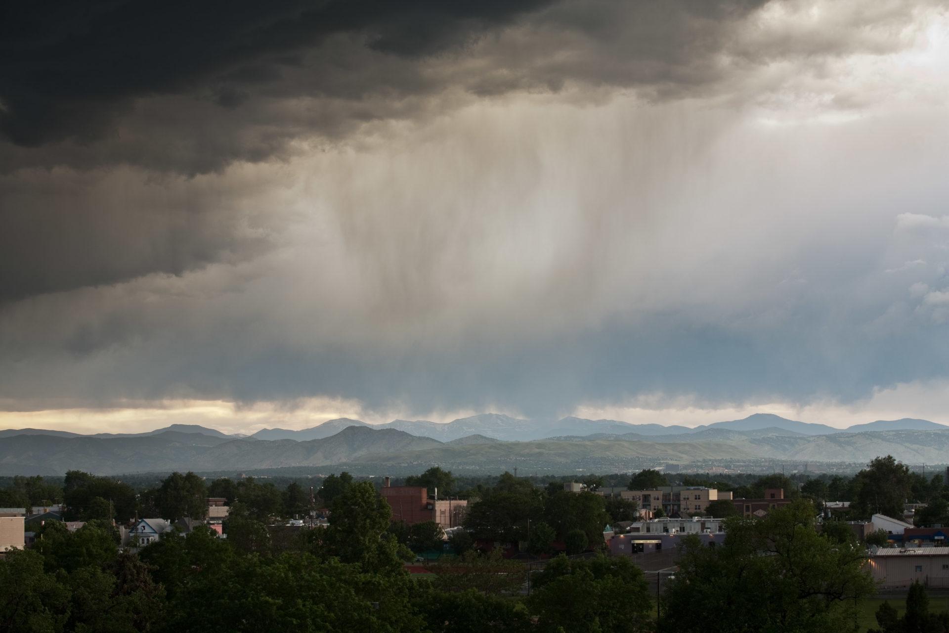 Mount Evans storm - June 13, 2011