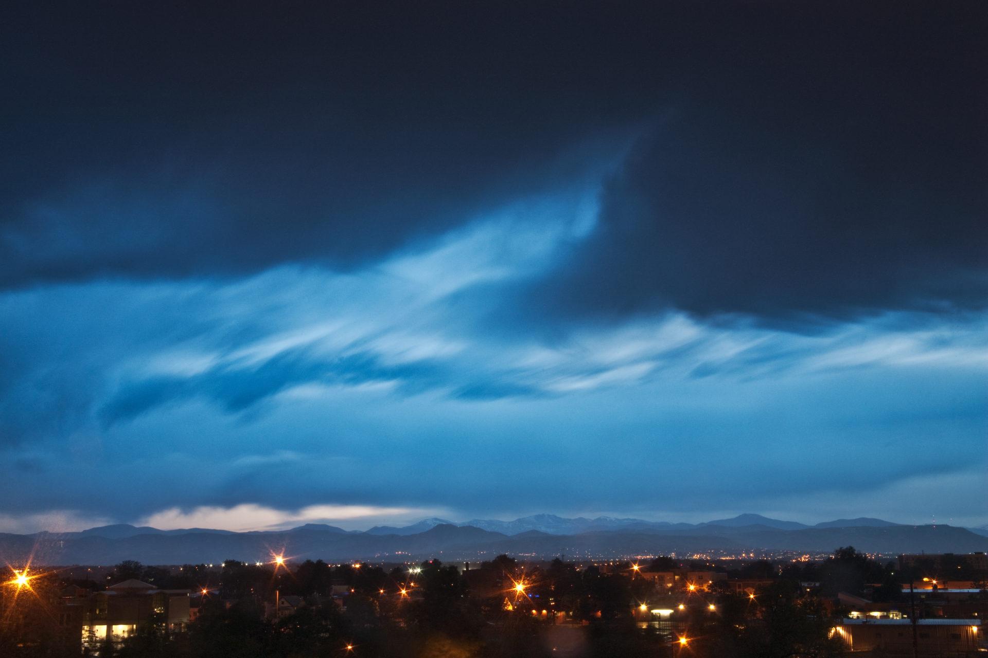 Mount Evans sunset - June 13, 2011