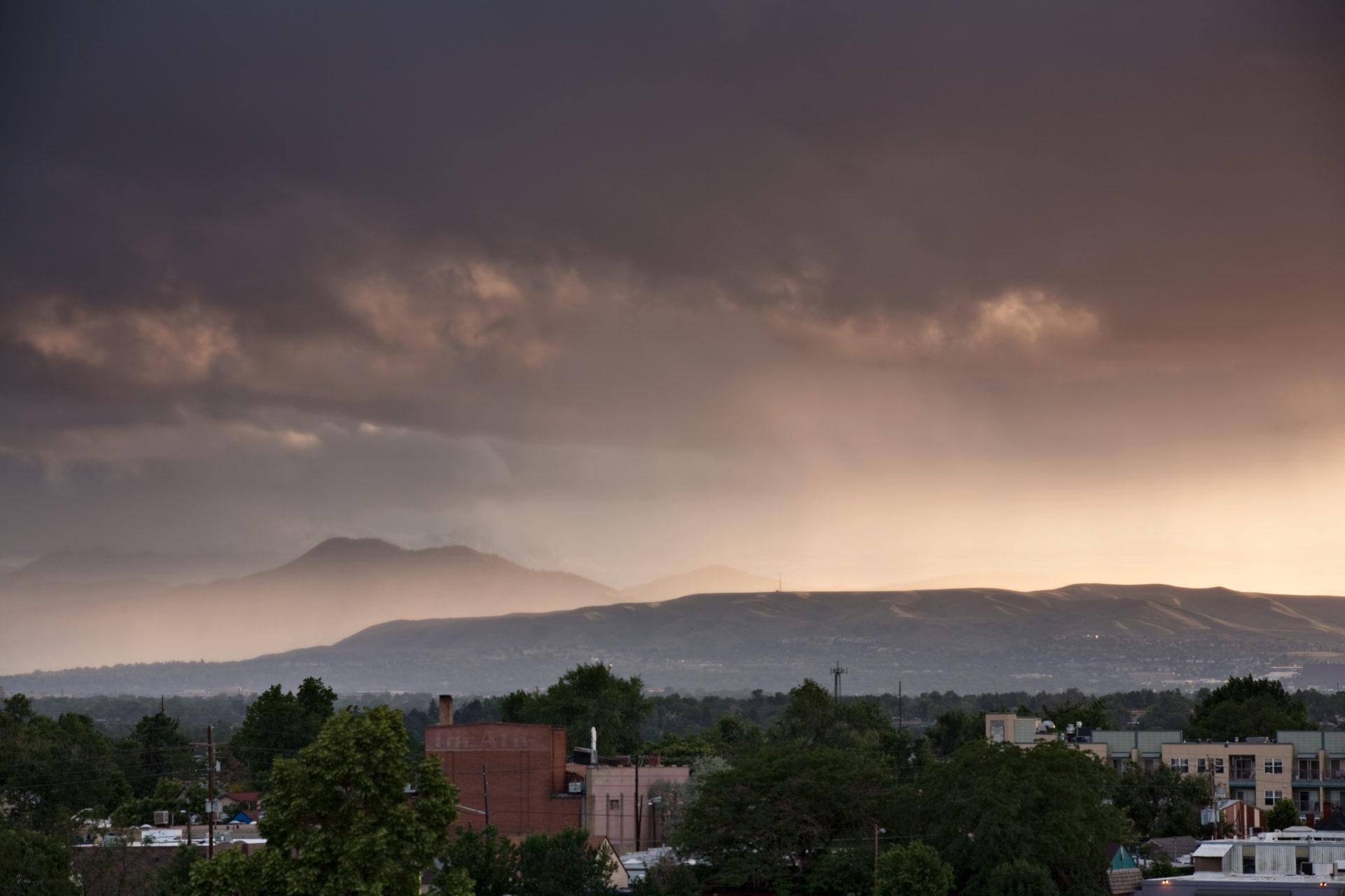 Mount Evans obscured - June 20, 2011