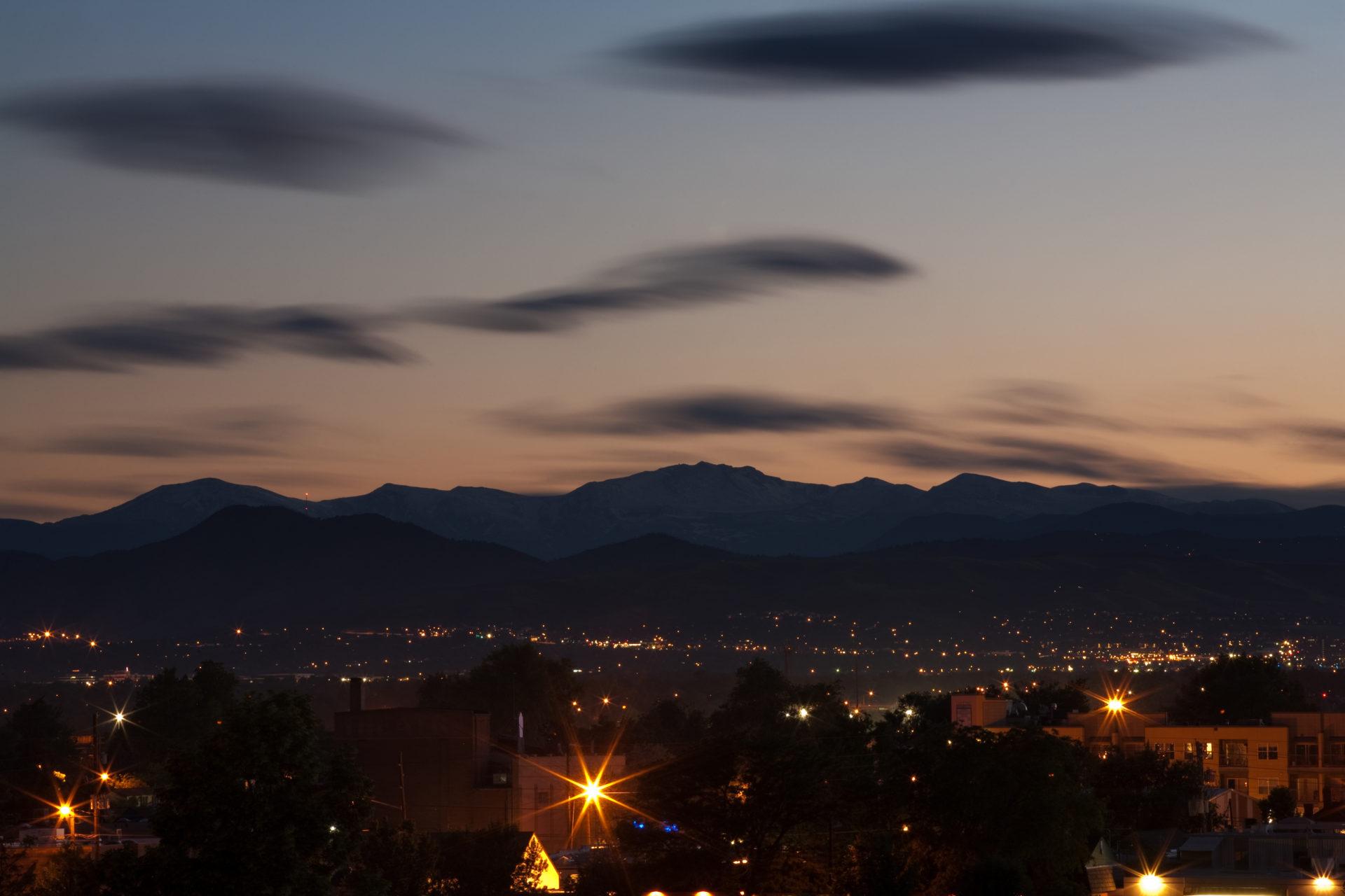 Mount Evans night - June 21, 2011