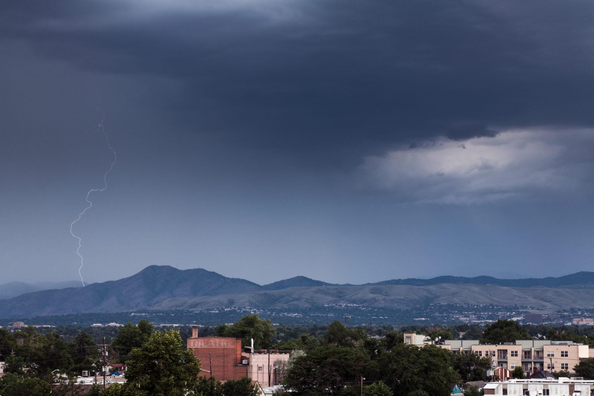 Mount Evans obscured - July 9, 2011