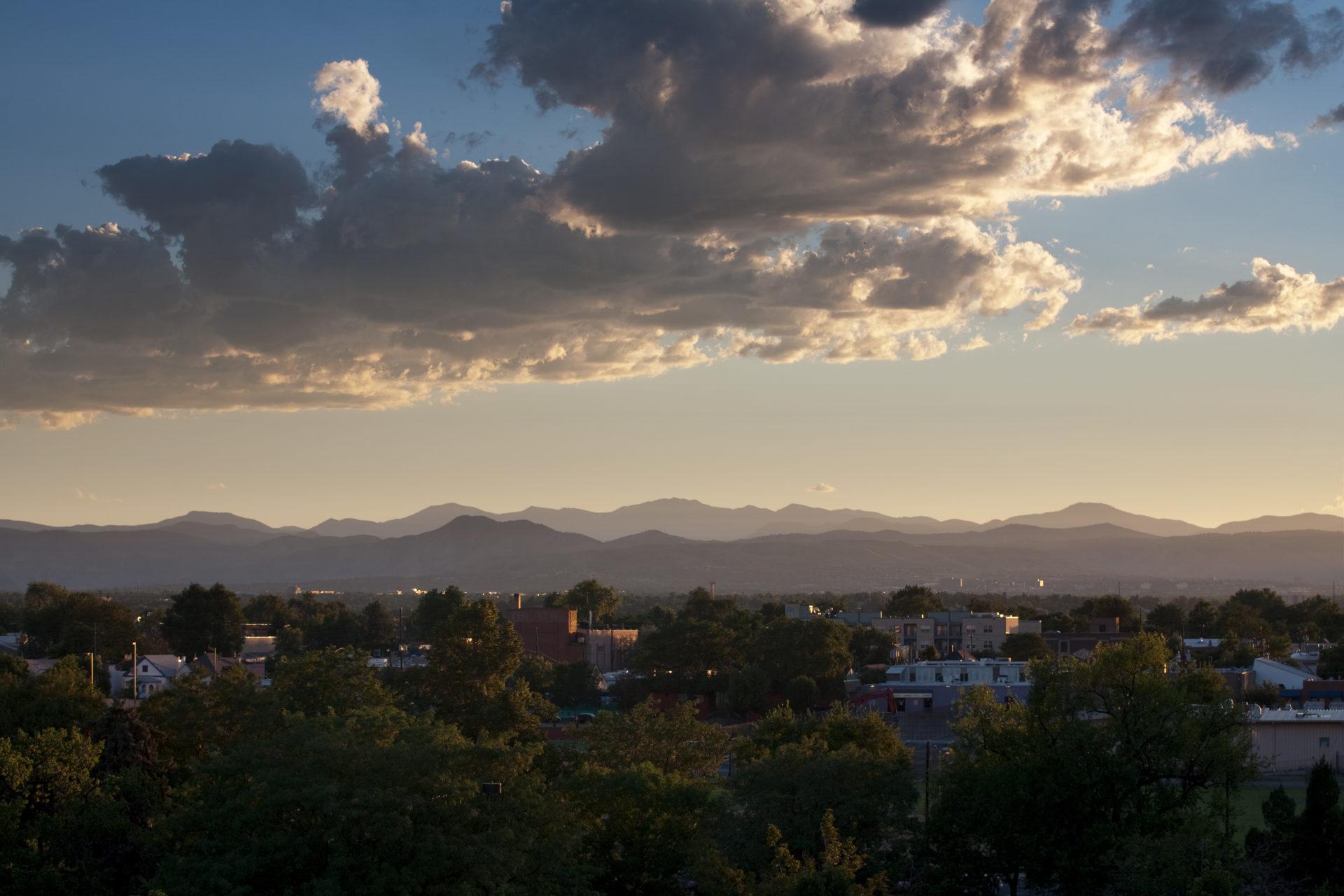 Mount Evans sunset - August 6, 2011